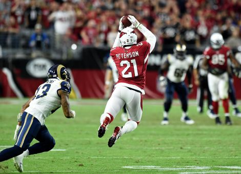 Patrick Peterson can read quarterback's minds.