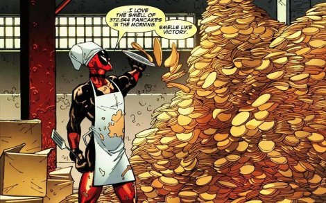 deadpool pancakes
