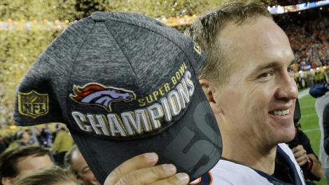 peyton superbowl hat