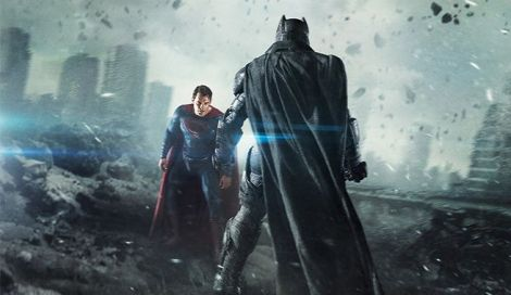 batman v superman fight