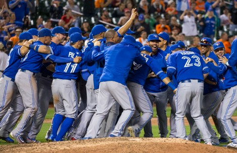 Toronto Blue Jays Celebration
