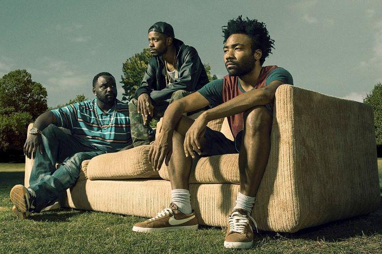 """Paper Boi, Darius and Earn Marks of """"Atlanta""""."""